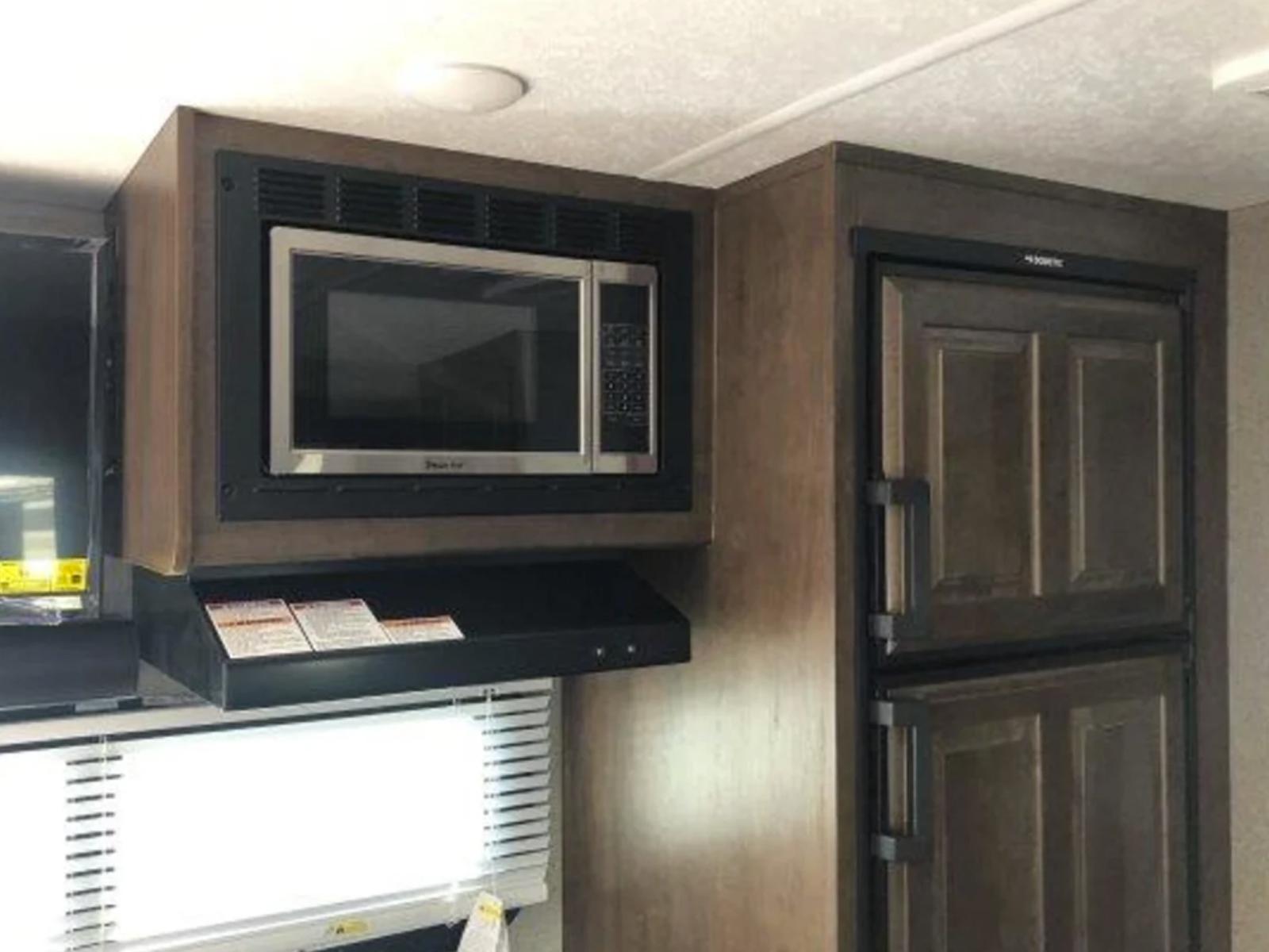 Rockwood Mini Lite Microwave Kitchen RV Rentals
